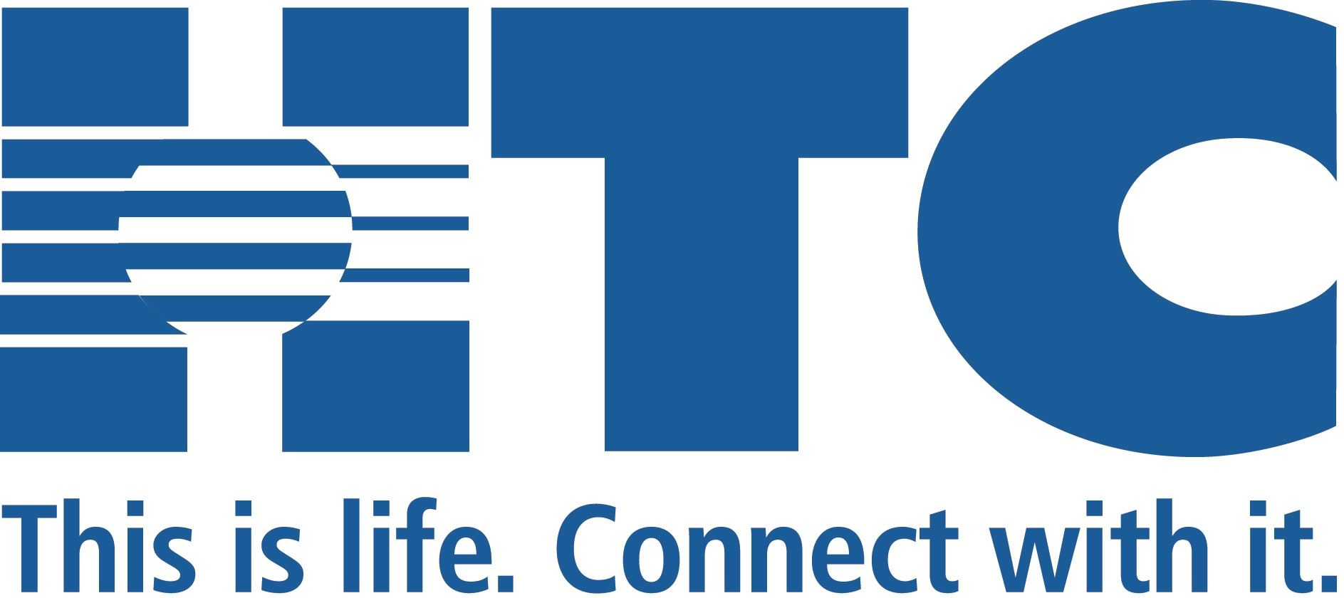 HTC Logo with Tagline